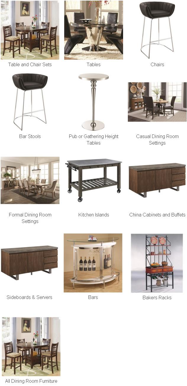 Coaster Fine Furniture Dining Room Furniture